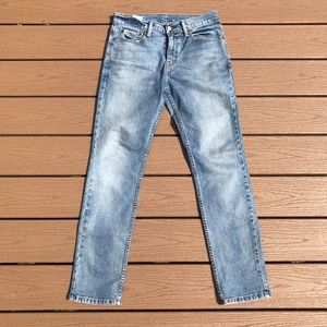 Levis Mens 511 Light Wash Jeans - 31x32